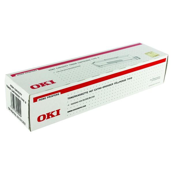 Oki B4300 High Capacity Toner Type9 (Eredeti)