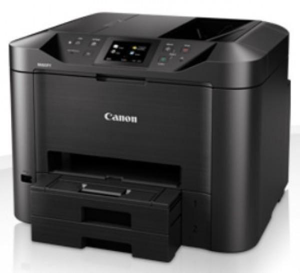 CANON MAXIFY MB5450 A4, színes, tintasugaras multifunkciós  nyomtató hálózatos, Wi-Fi-s, duplex
