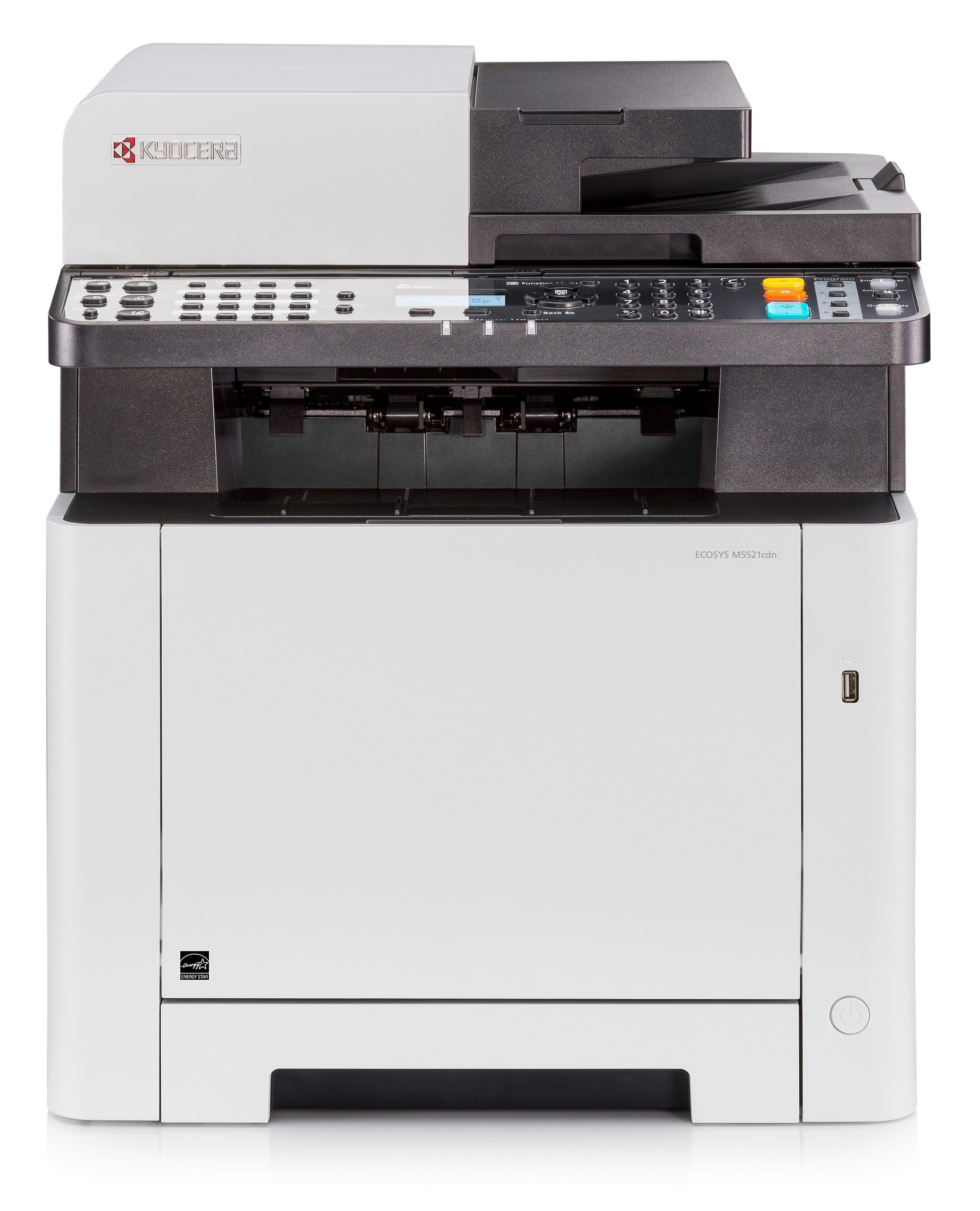 Kyocera M5521cdn A4, színes, lézer multifunkciós nyomtató hálózatos, duplex