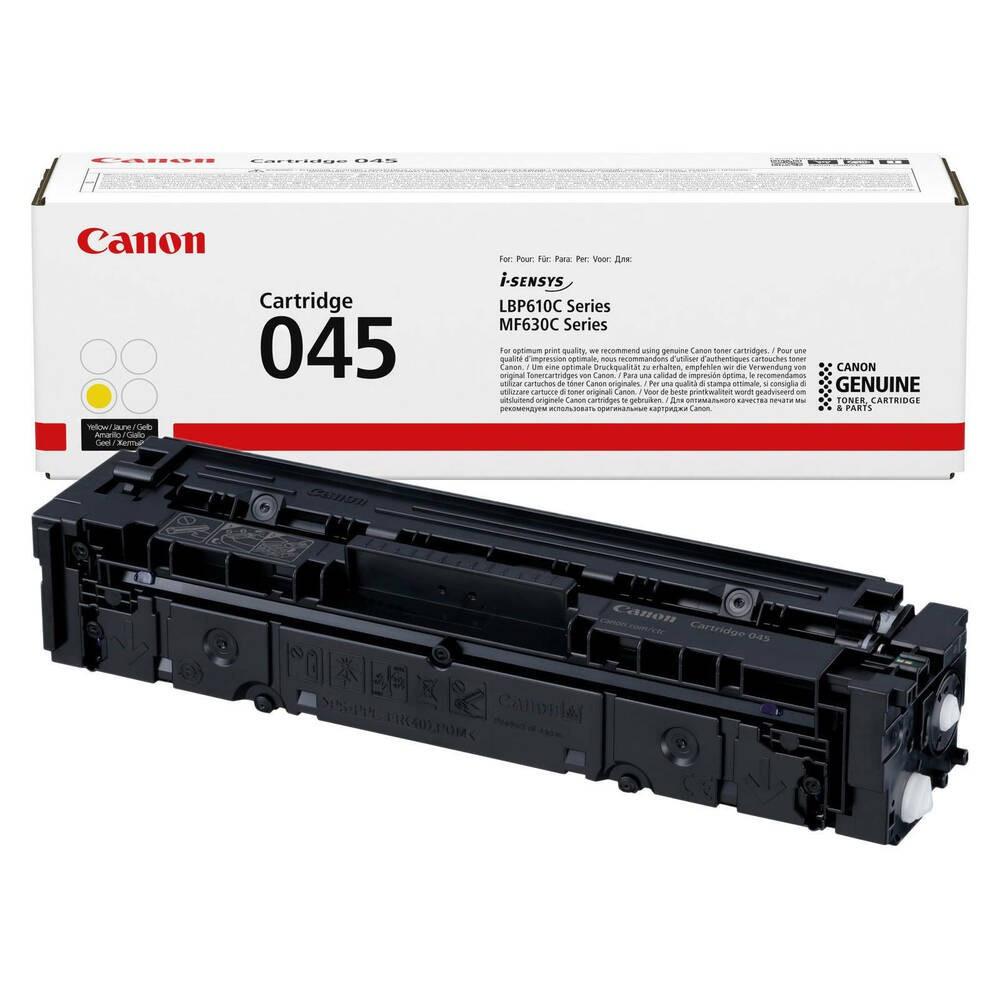 Canon CRG045 Toner - festékkazetta 1,3K sárga (Yellow), eredeti