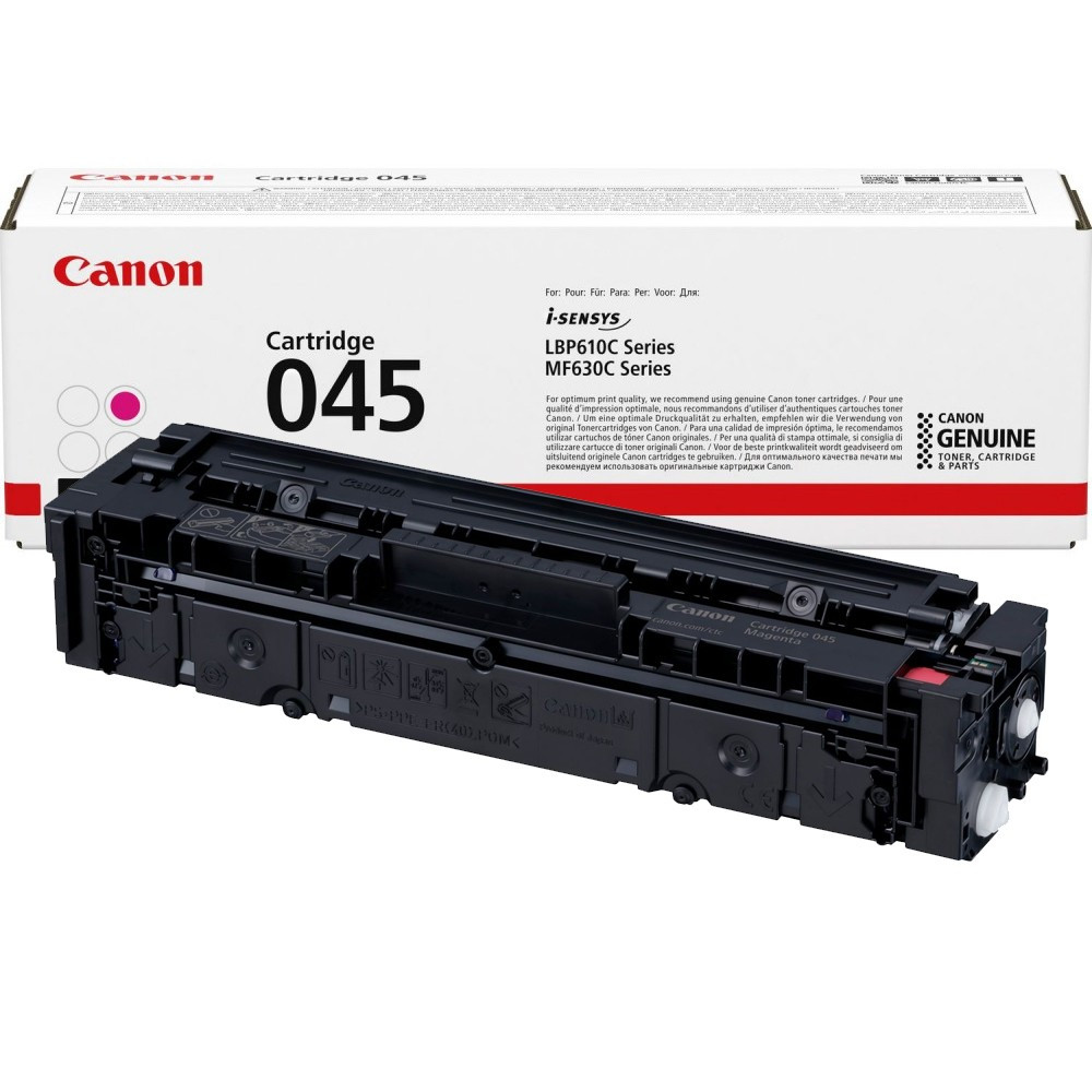 Canon CRG045 Toner - festékkazetta 1,3K magenta (bíbor), eredeti