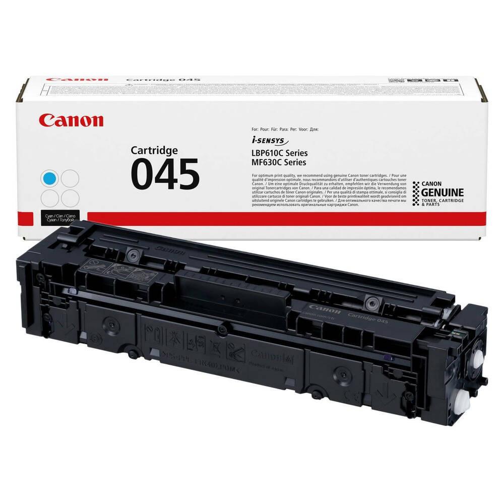 Canon CRG045 Toner - festékkazetta 1,3K cián (kék), eredeti