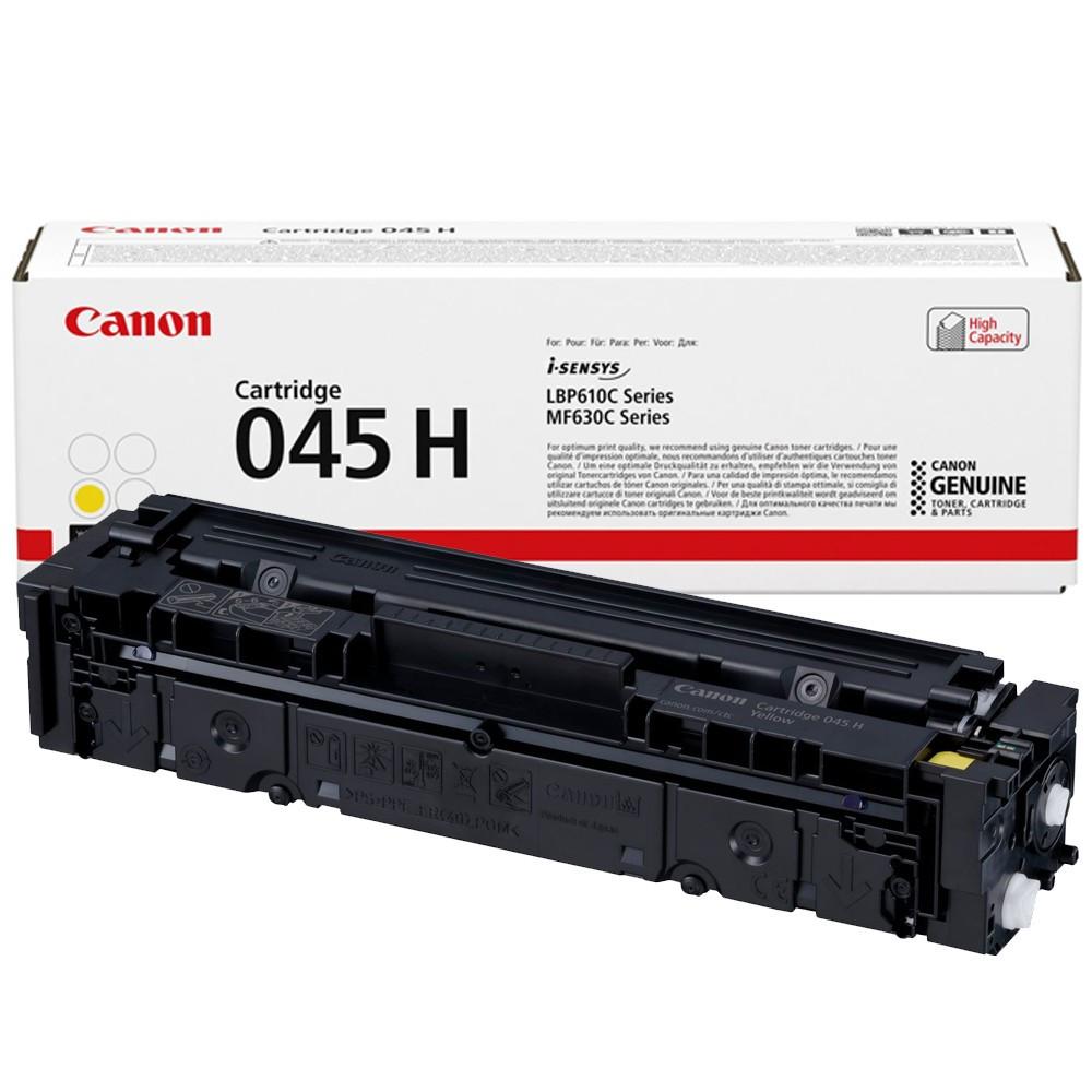 Canon CRG045H Toner - festékkazetta 2,2K sárga (Yellow), eredeti