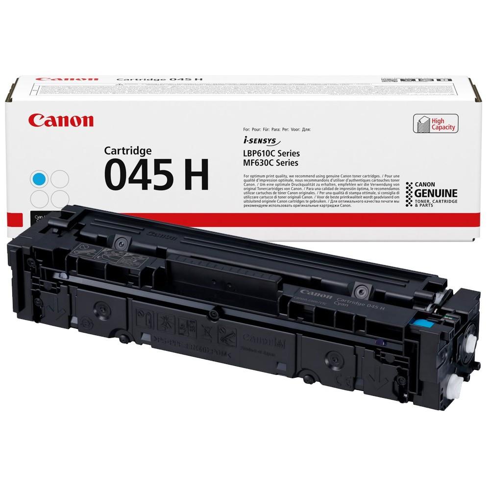 Canon CRG045H Toner - festékkazetta 2,2K cián (kék), eredeti