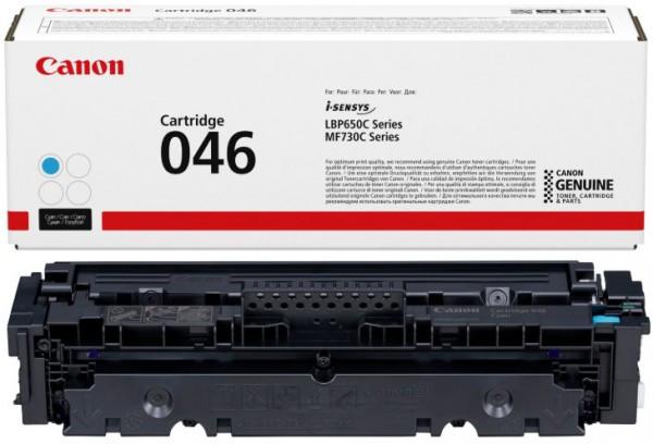 Canon CRG046 Toner - festékkazetta 2,3K cián (kék), eredeti