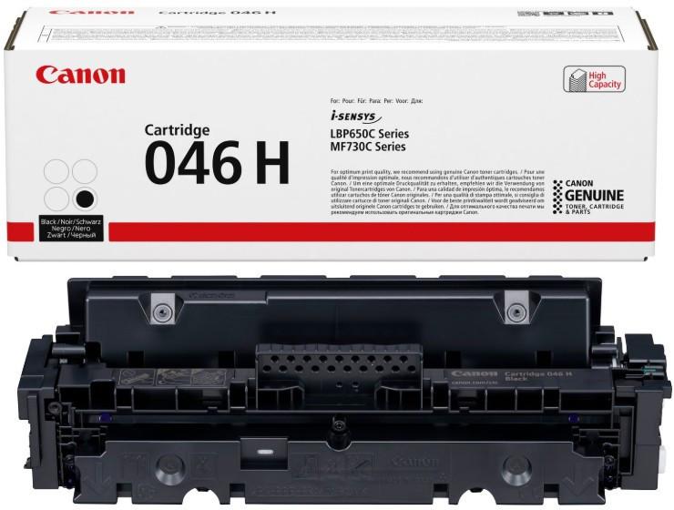 Canon CRG046H Toner - festékkazetta 6,3K fekete (Black), eredeti