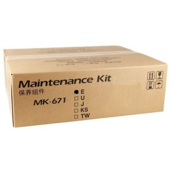 Kyocera MK-671 Javító készlet - Maintenance Kit 300K, eredeti