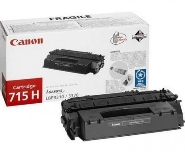 Canon CRG715H Toner - festékkazetta 7K fekete (Black), eredeti