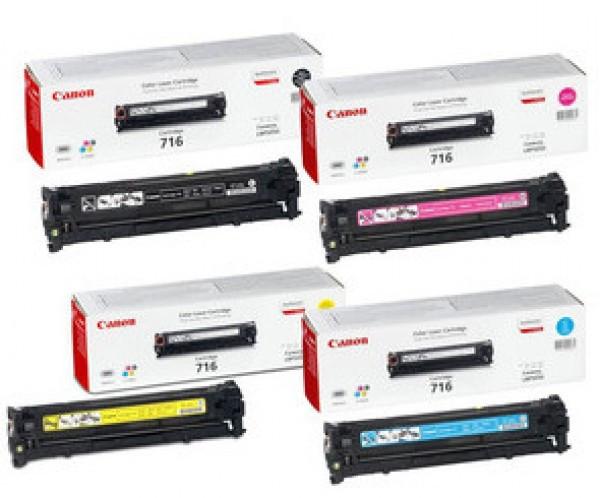 Canon CRG716/LBP5050 Toner - festékkazetta 1,5K magenta (bíbor), eredeti