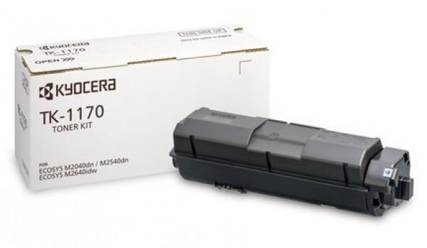 Kyocera TK-1170 Toner - festékkazetta 7,2K fekete (Black), eredeti