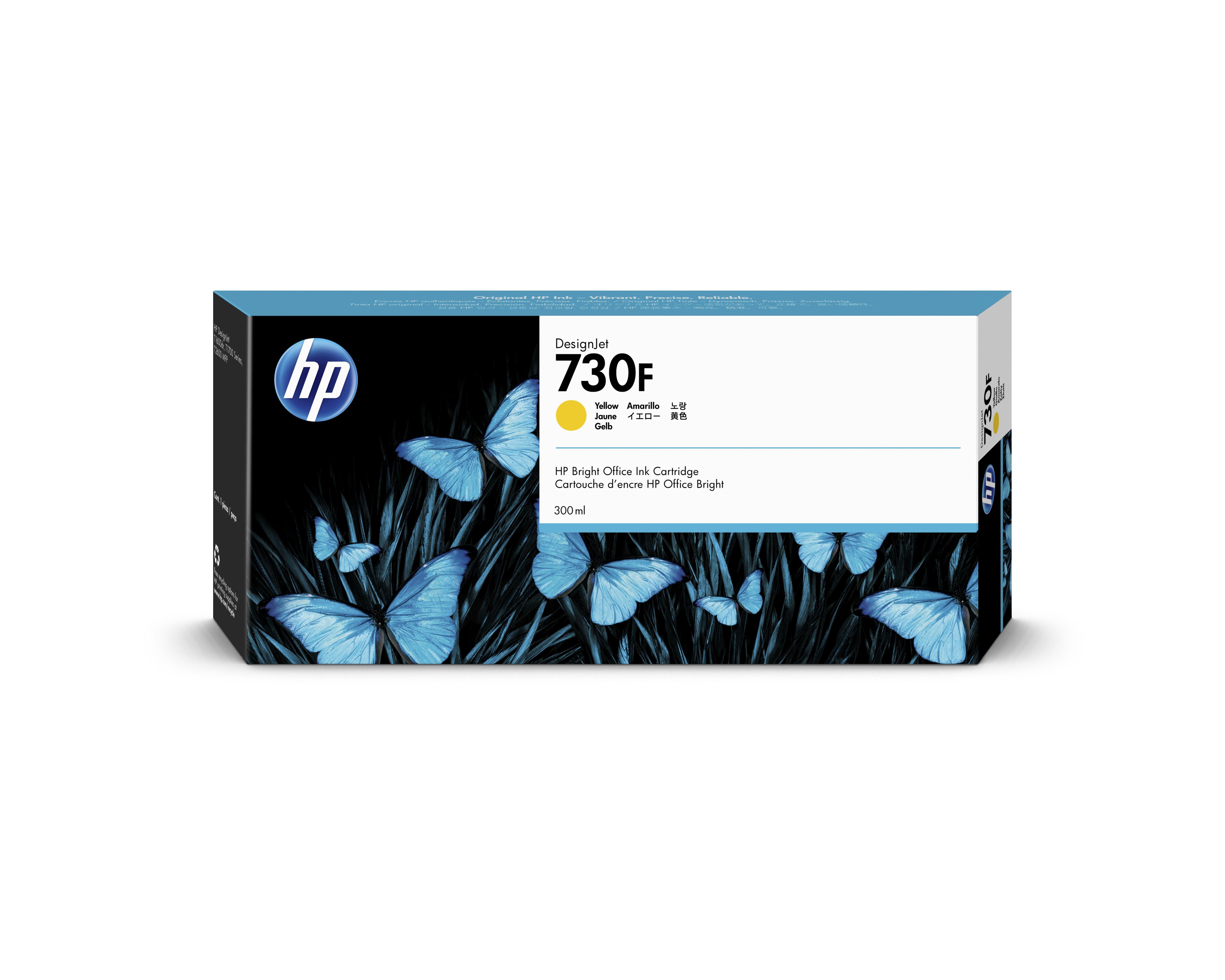HP 1XB25A Patron Yellow 300ml No.730F (Eredeti)