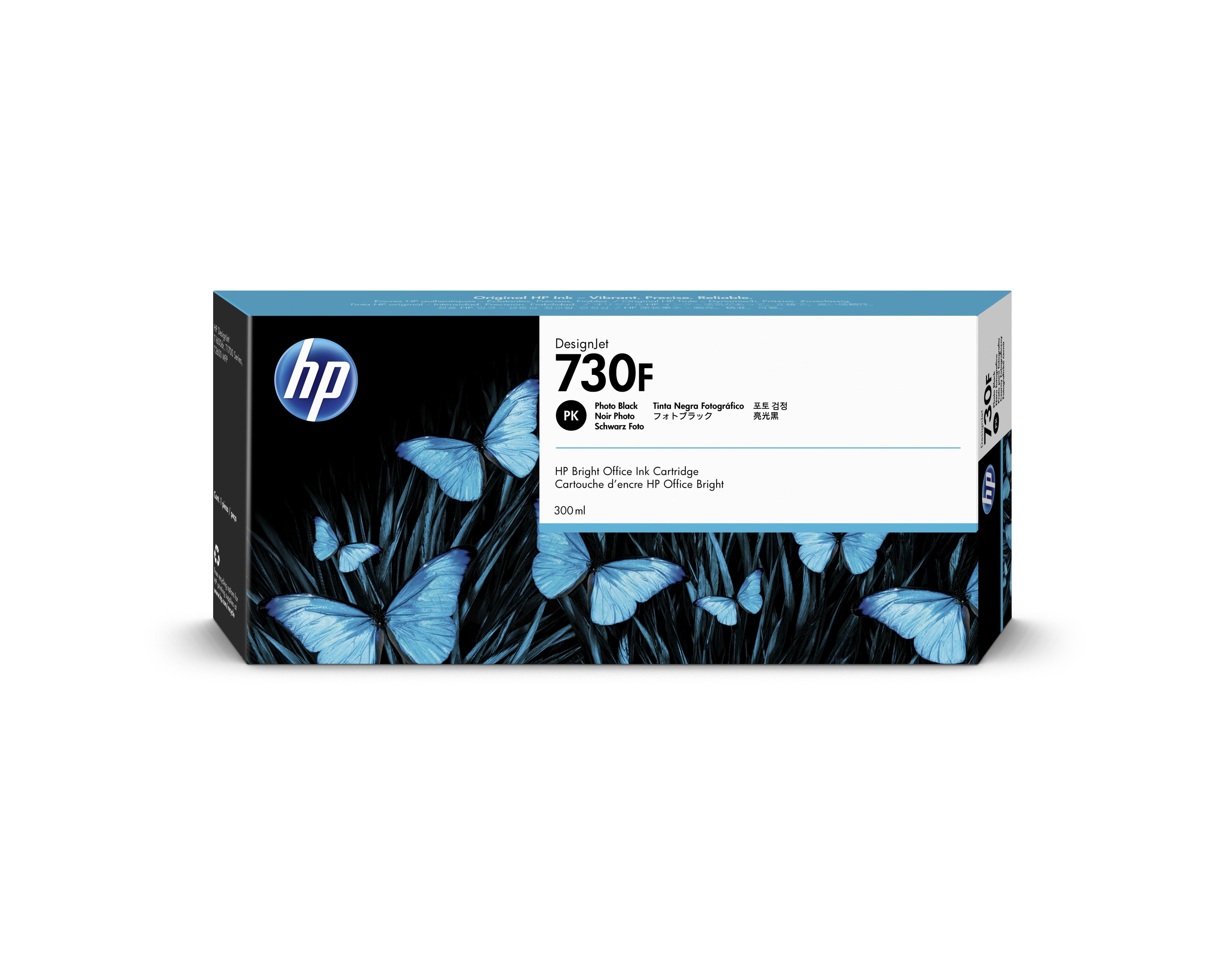 HP 1XB28A Patron Black 300ml No.730F (Eredeti)