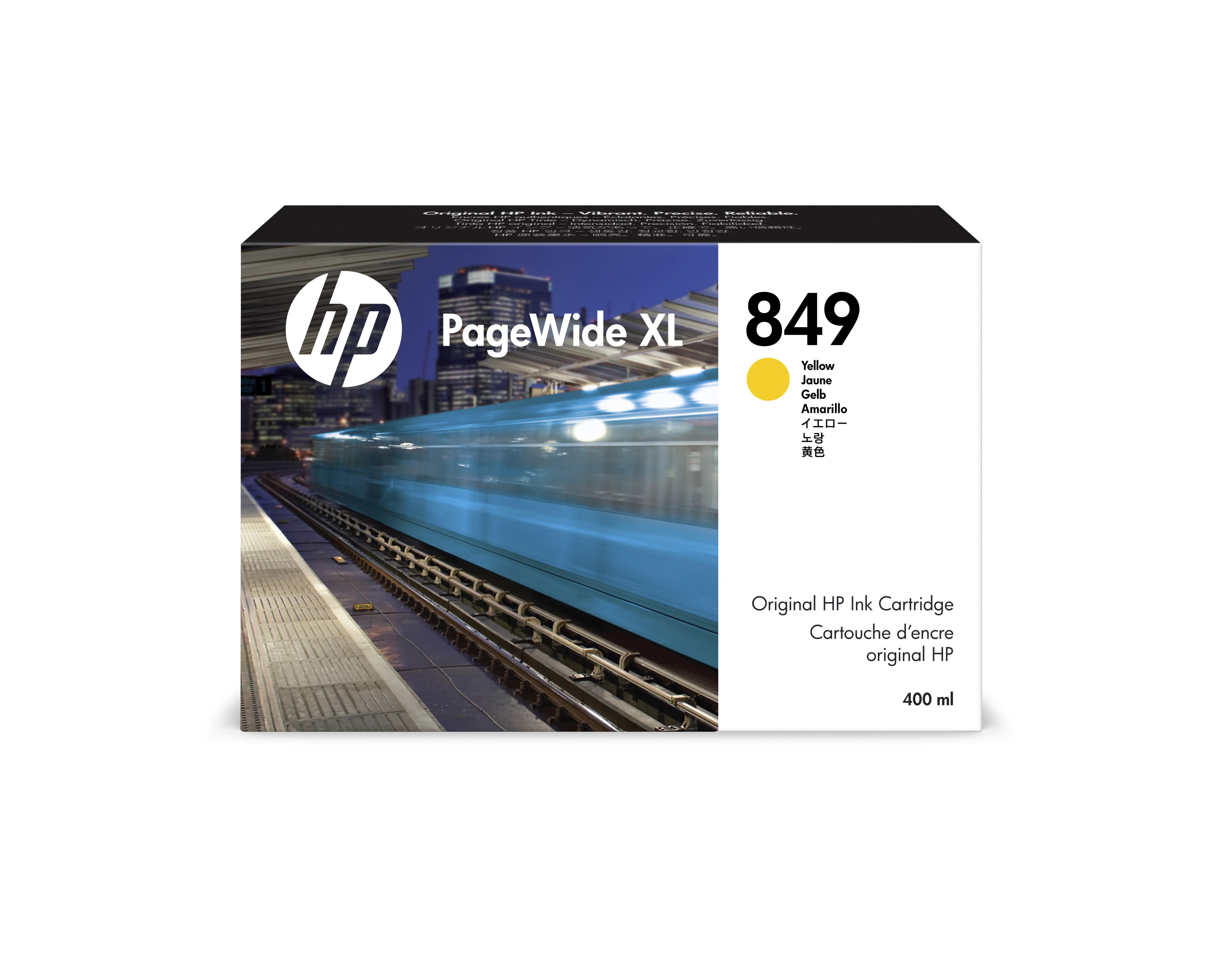 HP 1XB38A Patron Yellow No.849 (Eredeti)