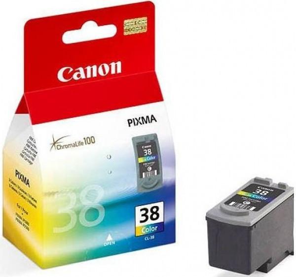 Canon CL38 tintapatron - Ink Cartridge 0,207K cián, magenta, sárga