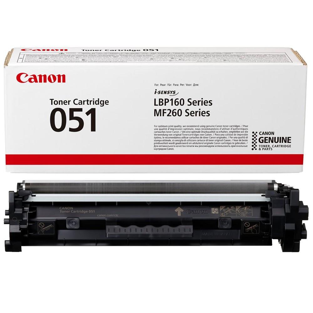Canon CRG051 Toner - festékkazetta 1,7K fekete (Black), eredeti