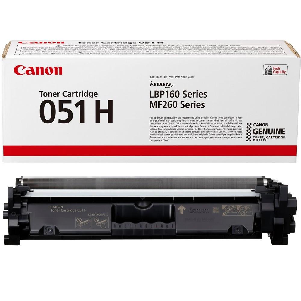 Canon CRG051H Toner - festékkazetta 4,1K fekete (Black), eredeti