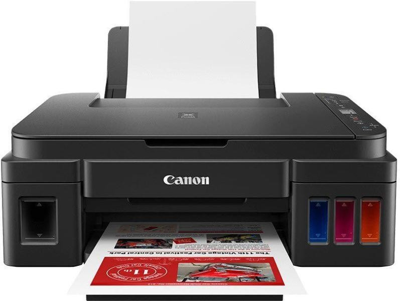 CANON PIXMA G3411 A4, színes, tintasugaras multifunkciós  nyomtató hálózatos, Wi-Fi-s