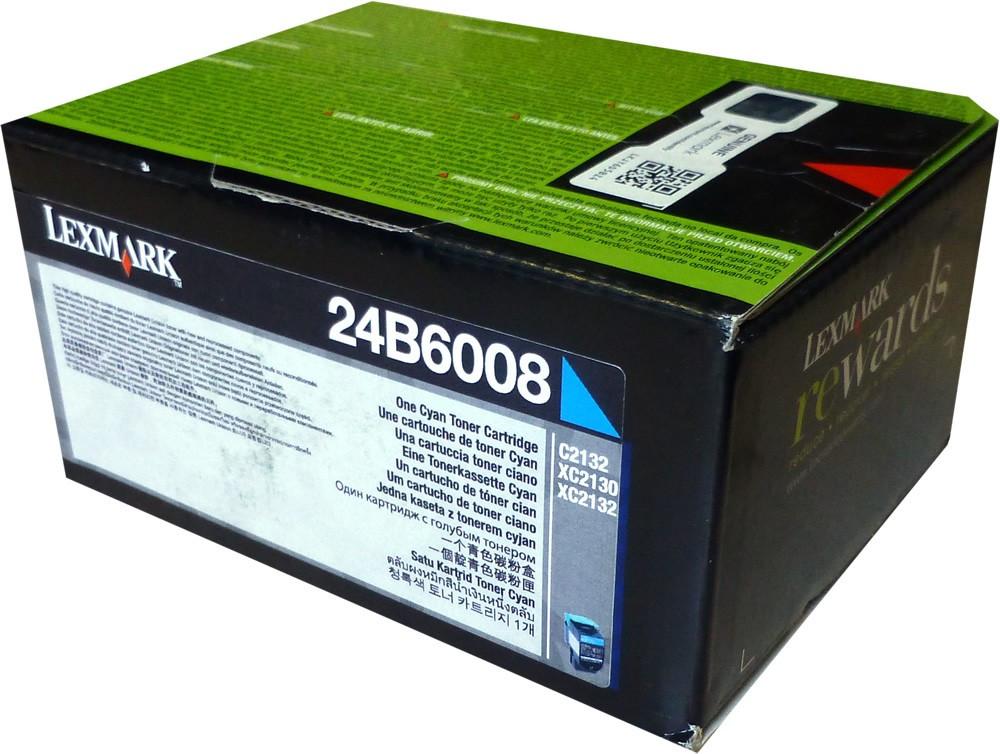 Lexmark C2132 Toner - festékkazetta 3K, cián (kék), eredeti