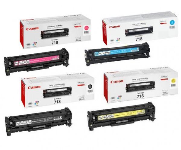 Canon CRG718/LBP7200 Toner - festékkazetta 2,9K magenta (bíbor), eredeti