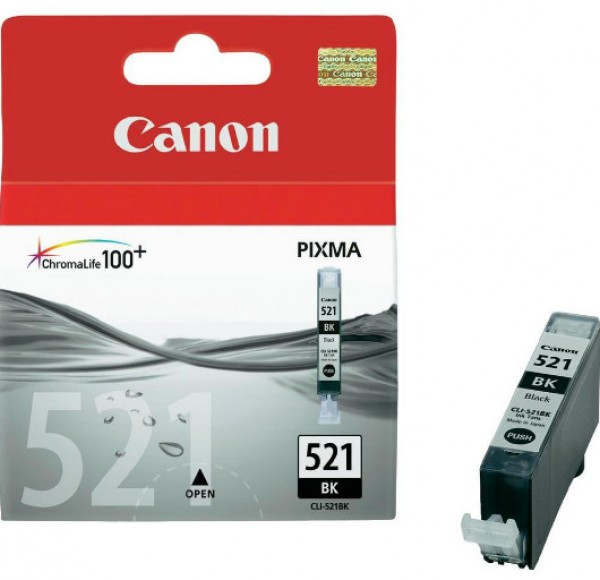 Canon CLI521 tintapatron - Ink Cartridge 0K fekete (Black)