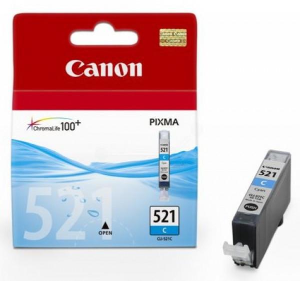 Canon CLI521 tintapatron - Ink Cartridge 0K cián (kék)