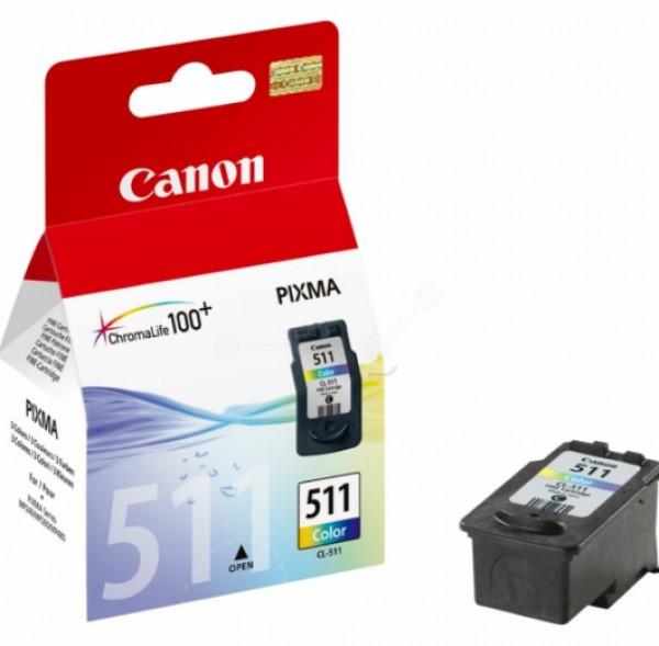 Canon CL511 Tintapatron - Ink Cartridge színes (Colour), eredeti