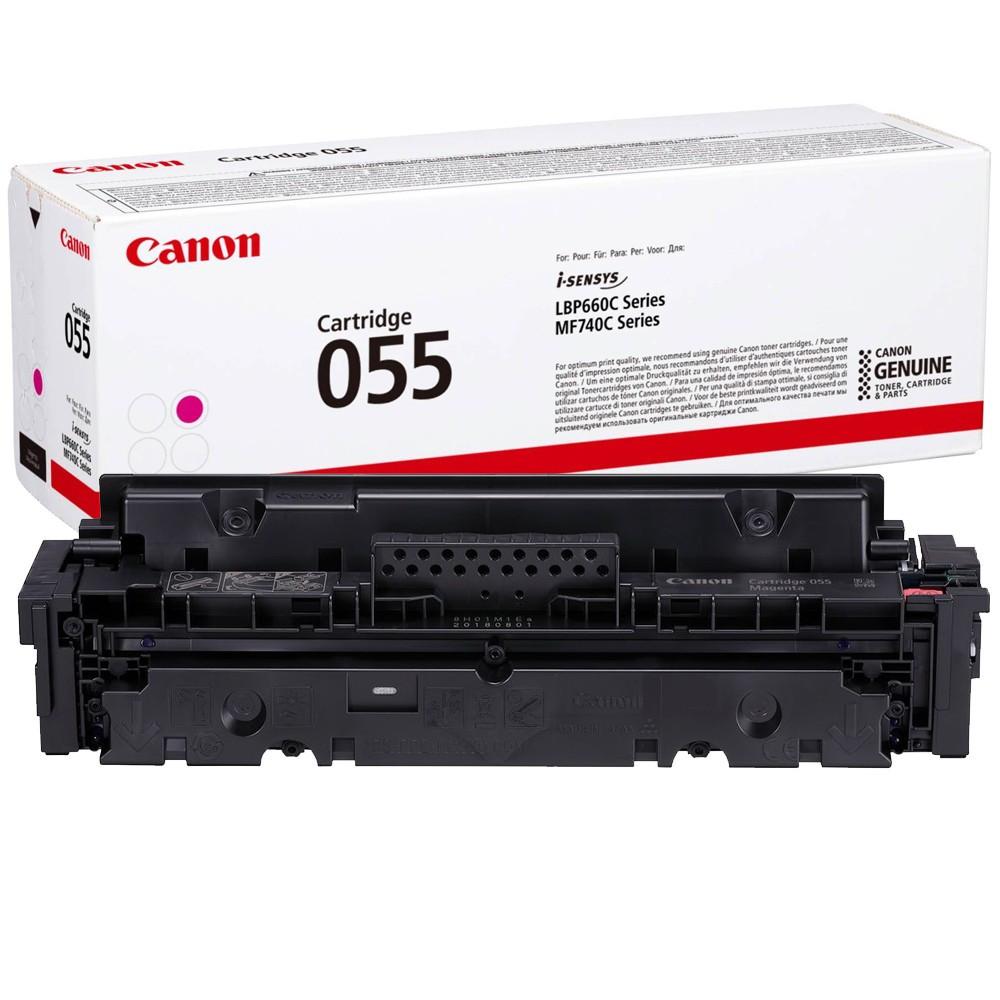 Canon CRG055 Toner - festékkazetta 2,1K magenta (bíbor), eredeti
