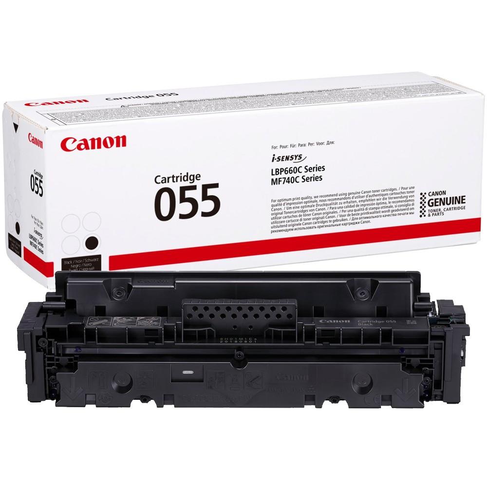 Canon CRG055 Toner - festékkazetta 2,3K fekete (Black), eredeti
