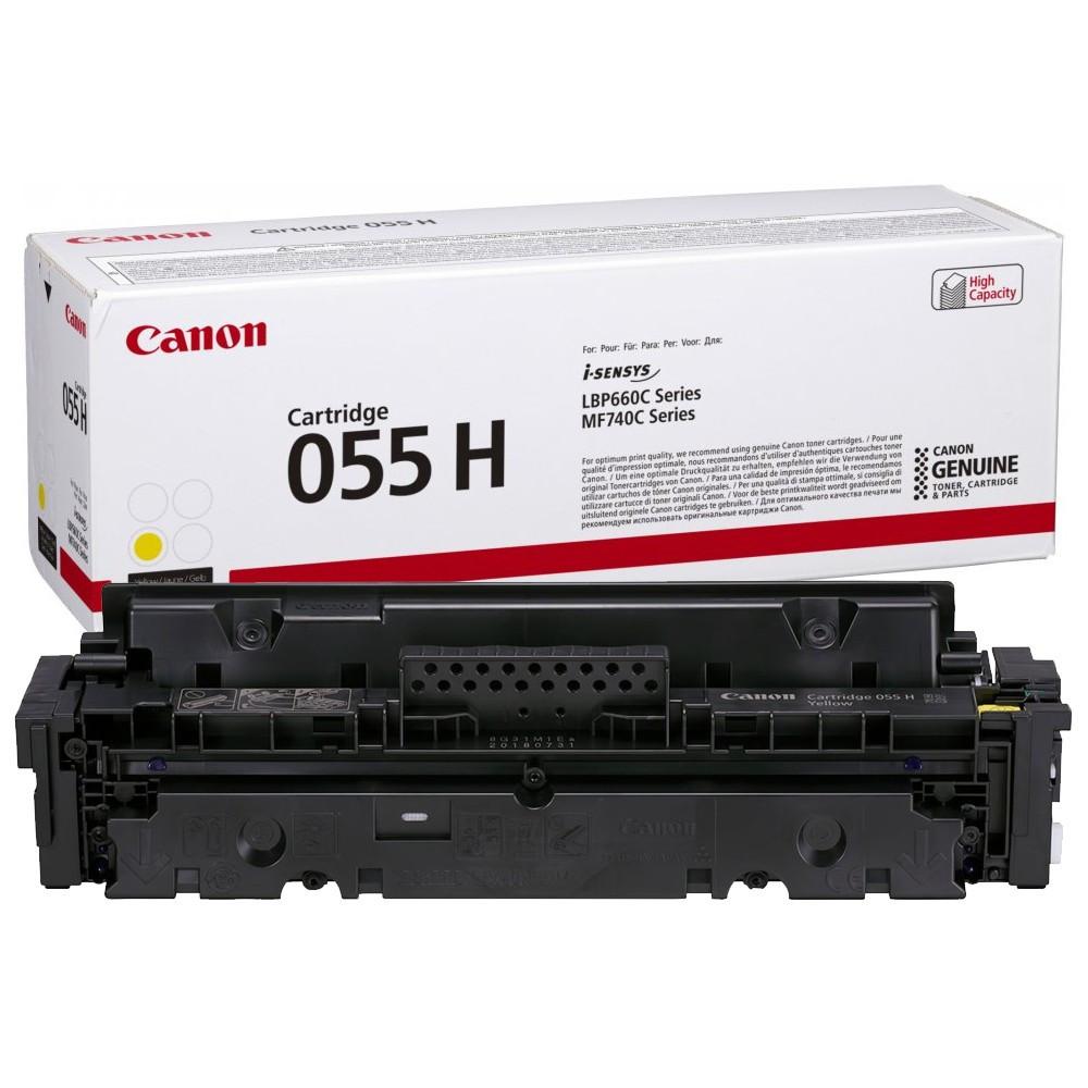 Canon CRG055H Toner - festékkazetta 5,9K sárga (Yellow), eredeti