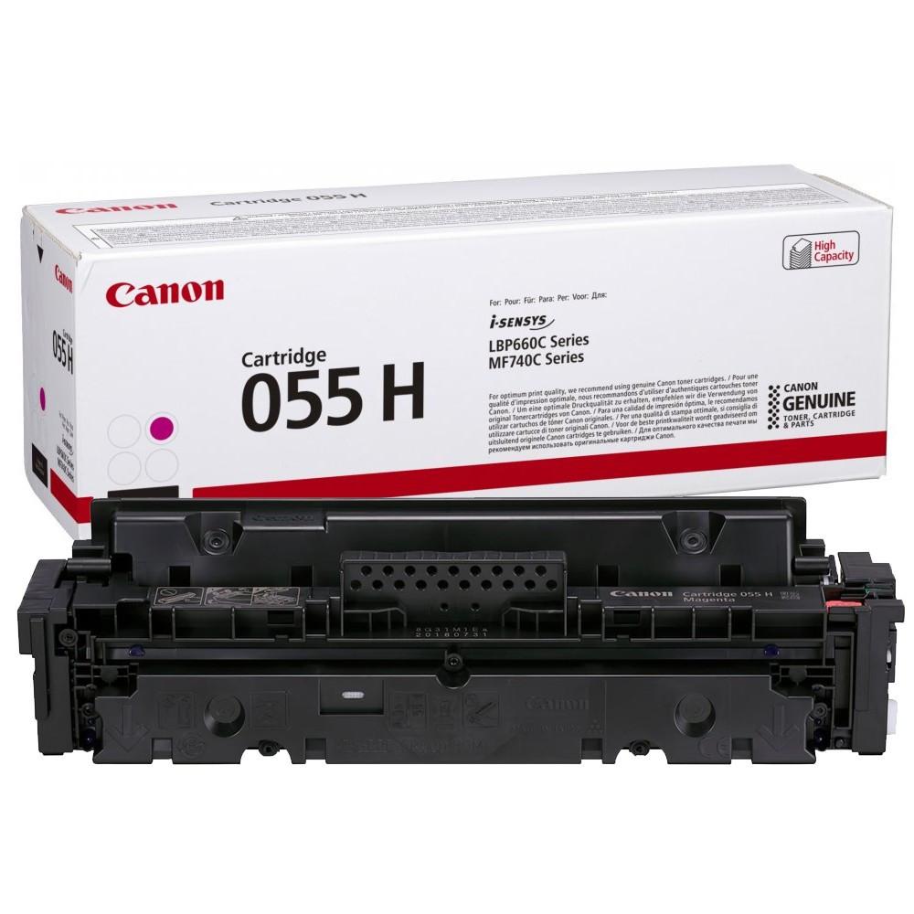 Canon CRG055H Toner - festékkazetta 5,9K magenta (bíbor), eredeti