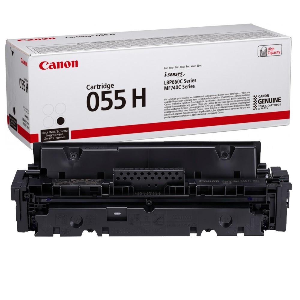 Canon CRG055H Toner - festékkazetta 7,6K fekete (Black), eredeti