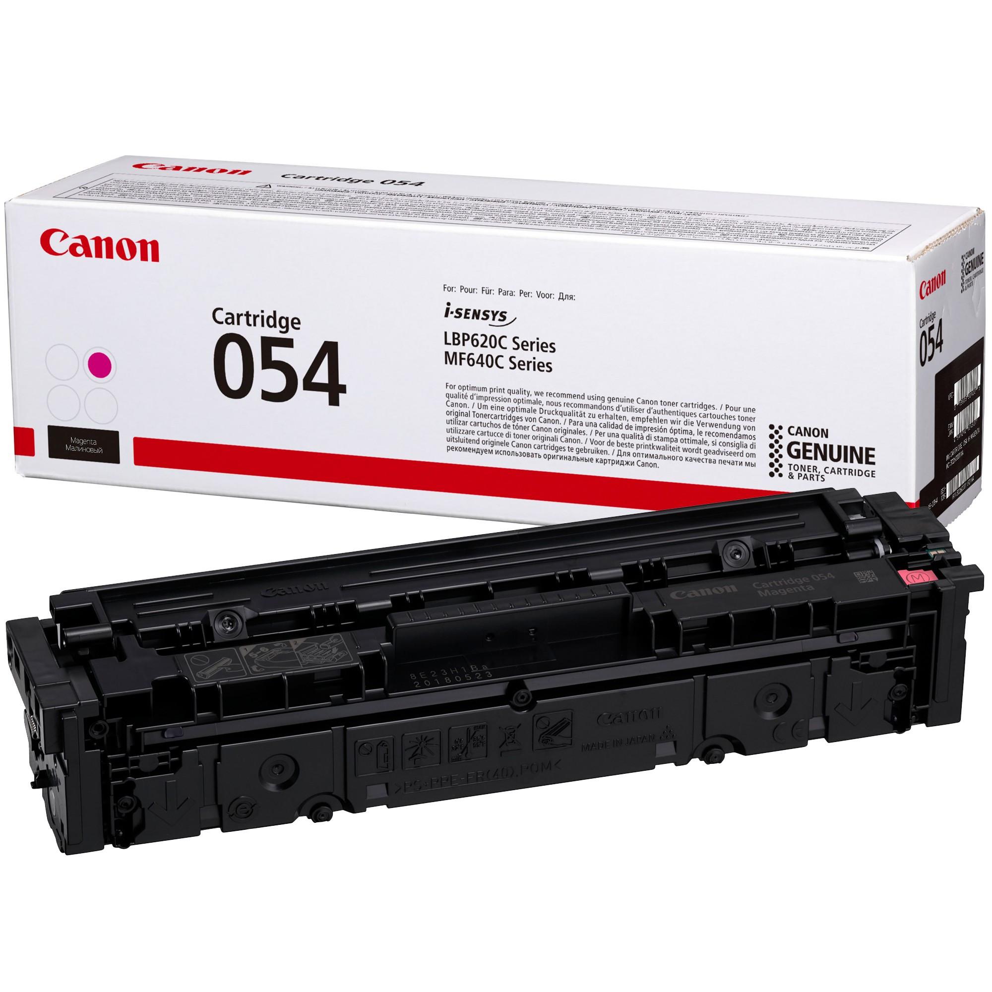 Canon CRG054 Toner - festékkazetta 1,2K magenta (bíbor), eredeti