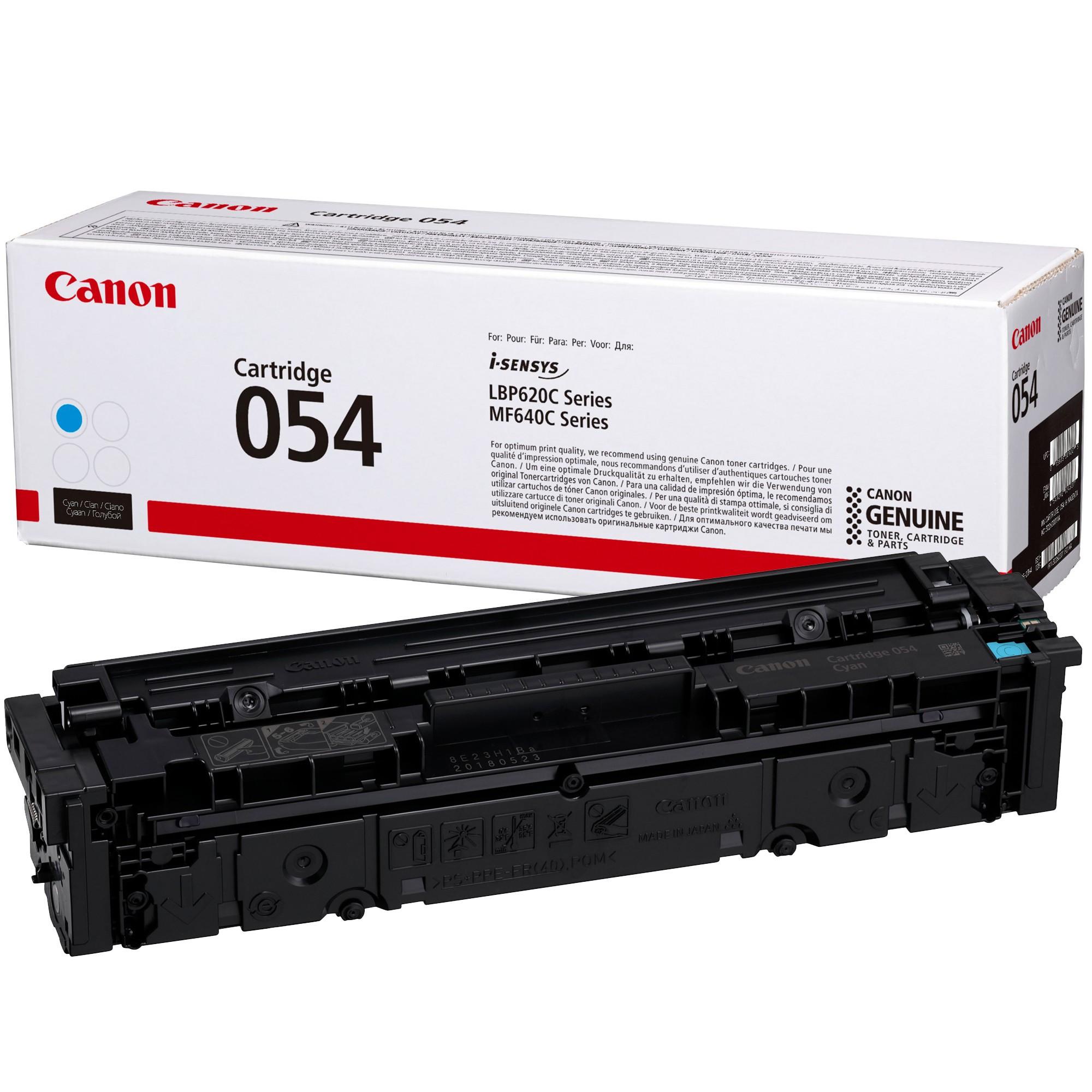 Canon CRG054 Toner - festékkazetta 1,2K cián (kék), eredeti