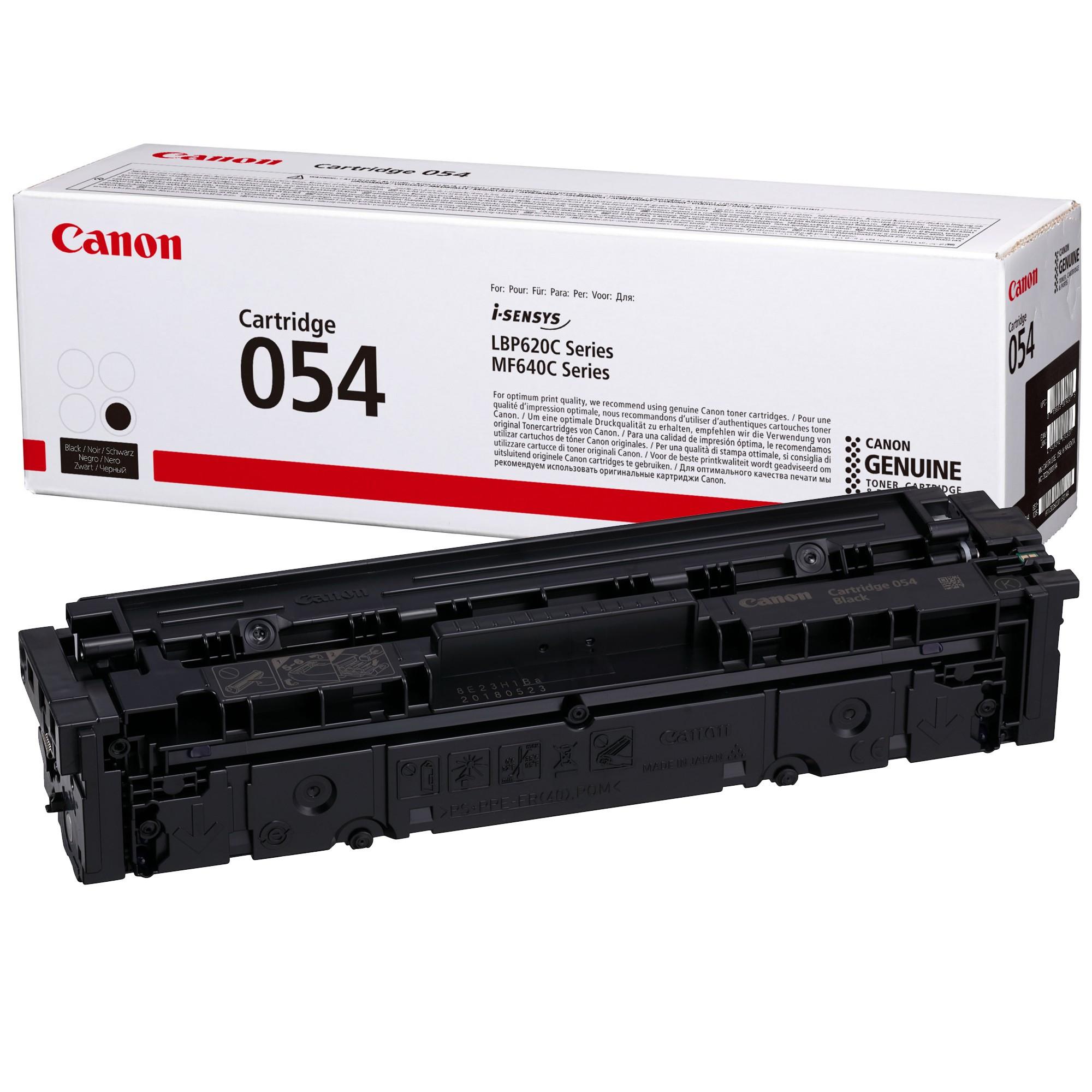 Canon CRG054 Toner - festékkazetta 1,5K fekete (Black), eredeti
