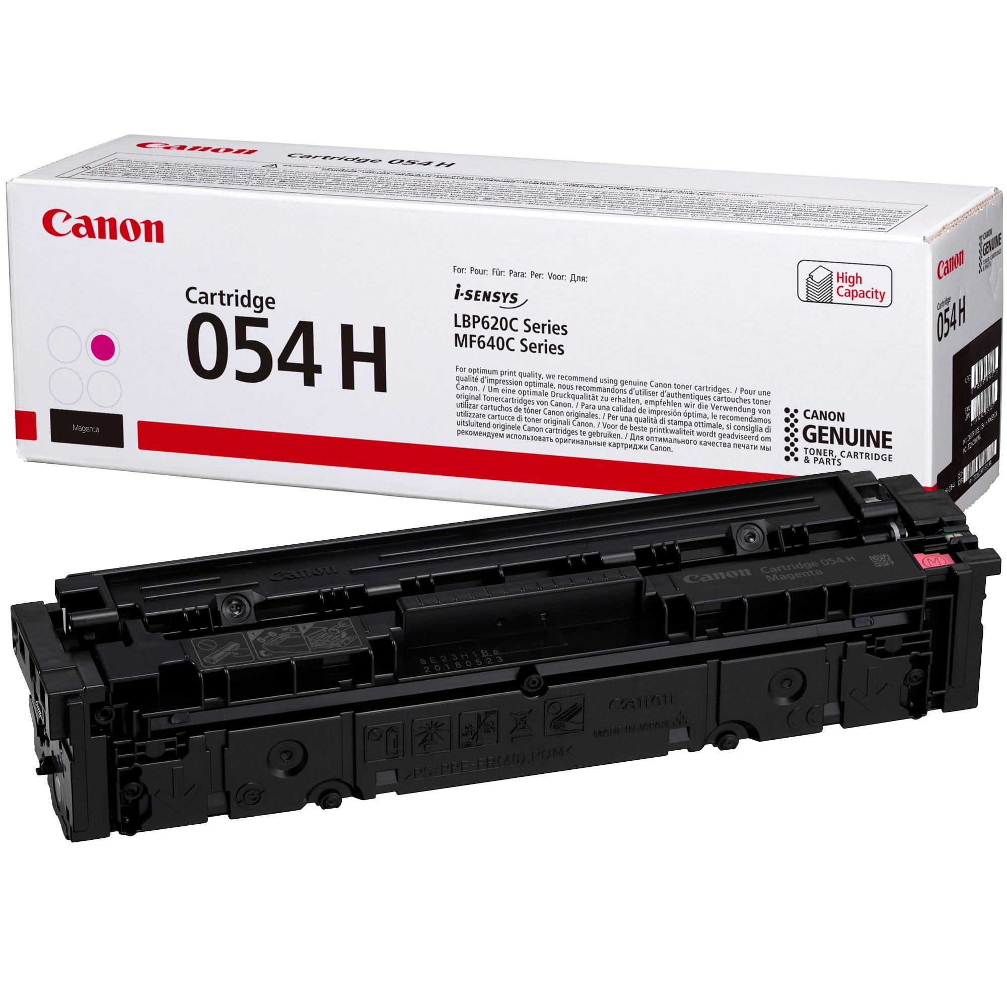 Canon CRG054H Toner - festékkazetta 2,3K magenta (bíbor), eredeti