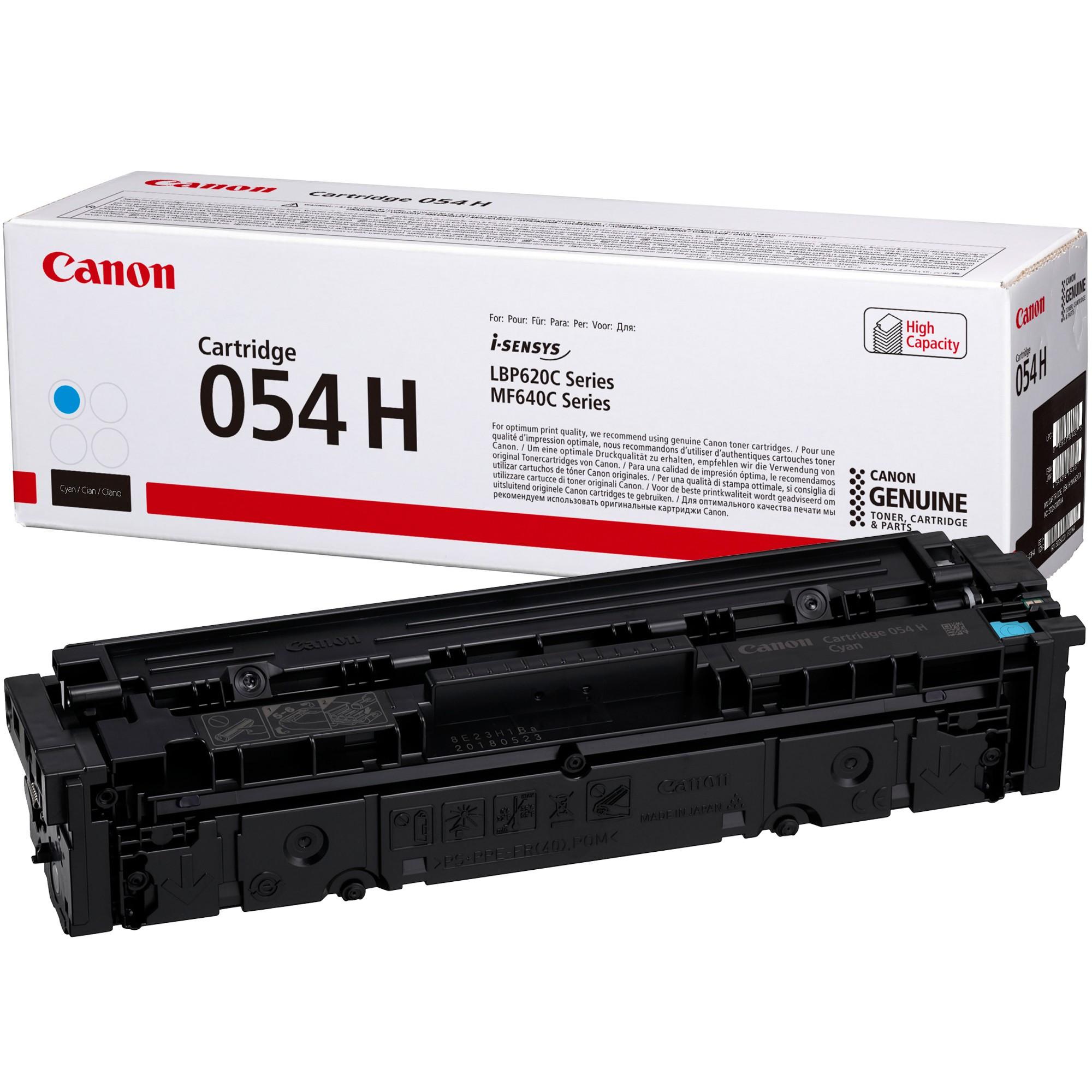 Canon CRG054H Toner - festékkazetta 2,3K cián (kék), eredeti