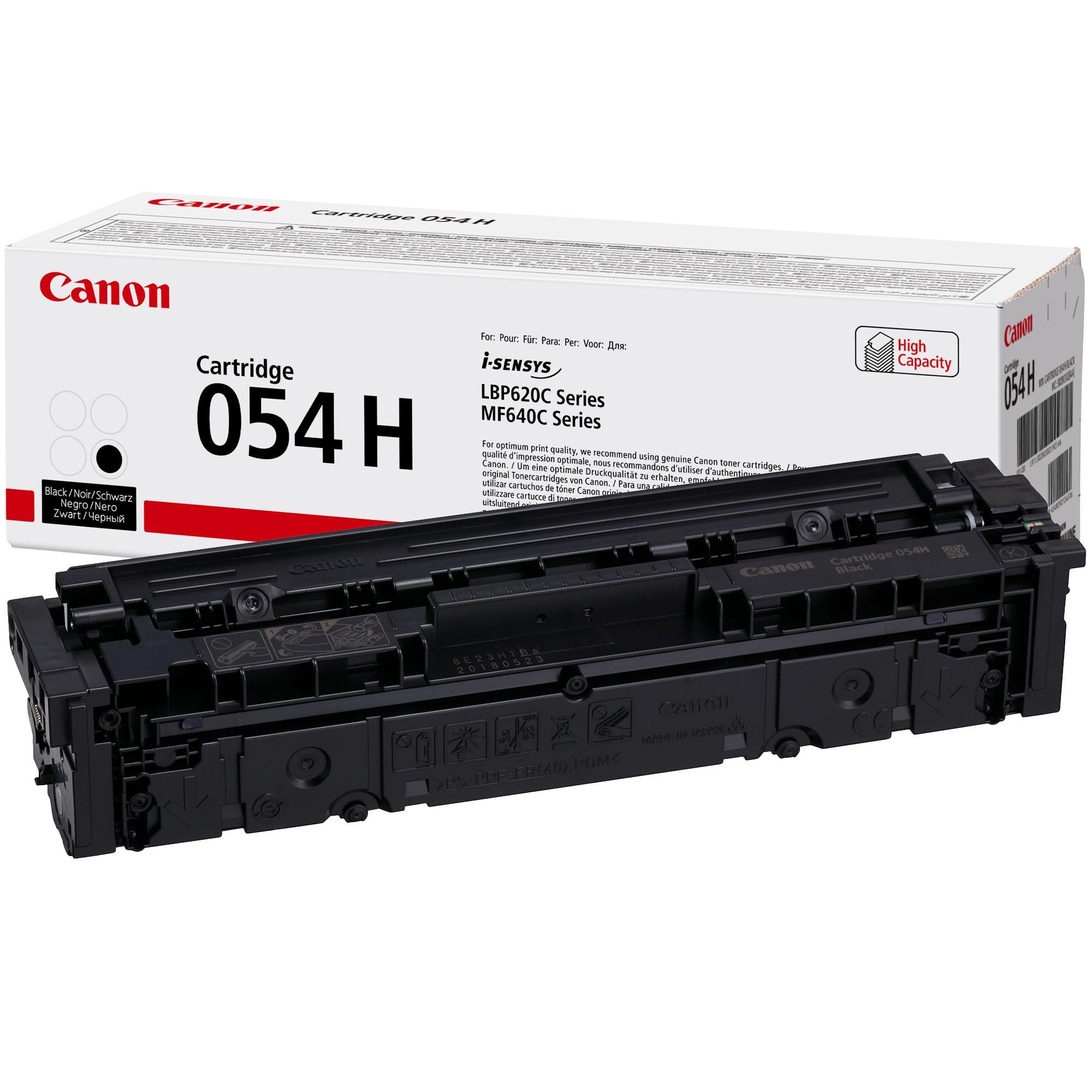 Canon CRG054H Toner - festékkazetta 3,1K fekete (Black), eredeti