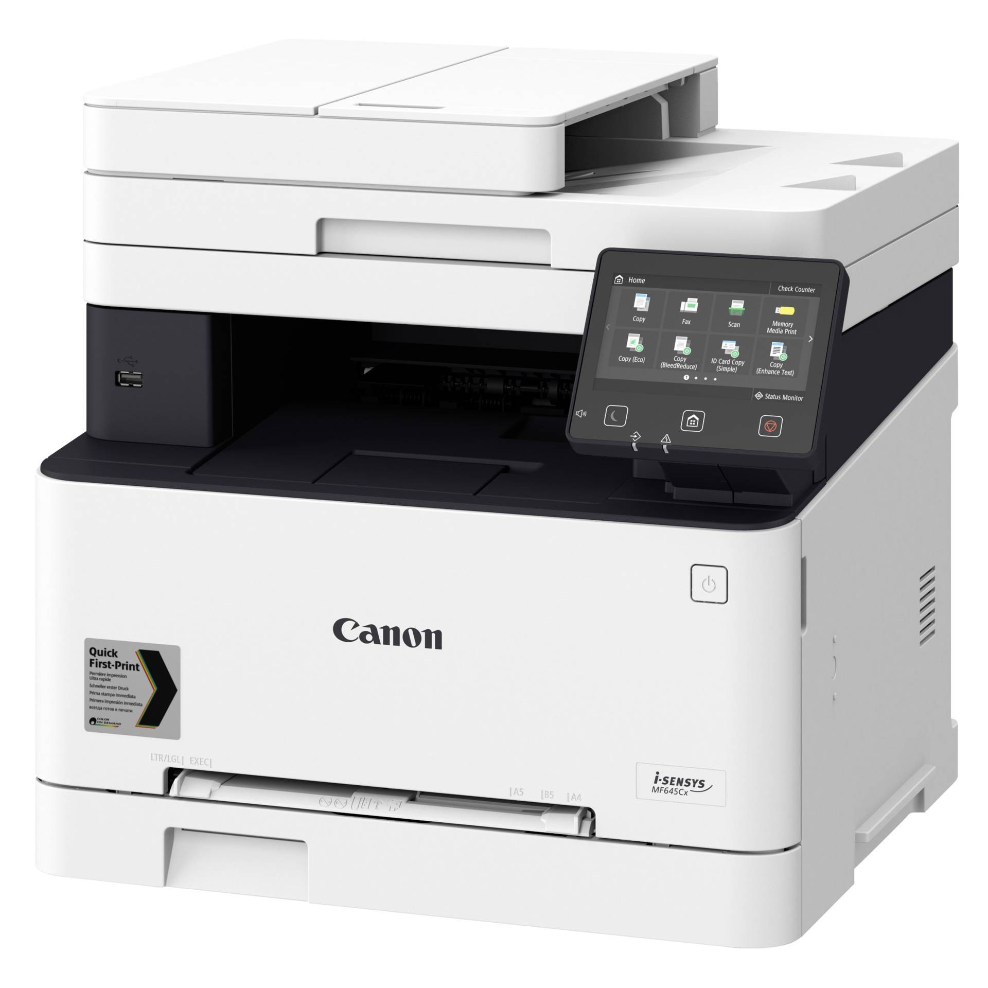 CANON I-SENSYS MF645CX A4, színes, lézer multifunkciós nyomtató hálózatos, Wi-Fi-s, duplex