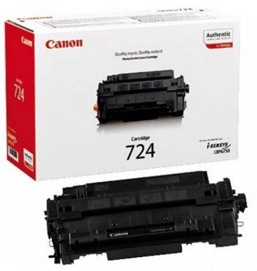 Canon CRG724/LBP6750 Toner - festékkazetta 6K fekete (Black), eredeti