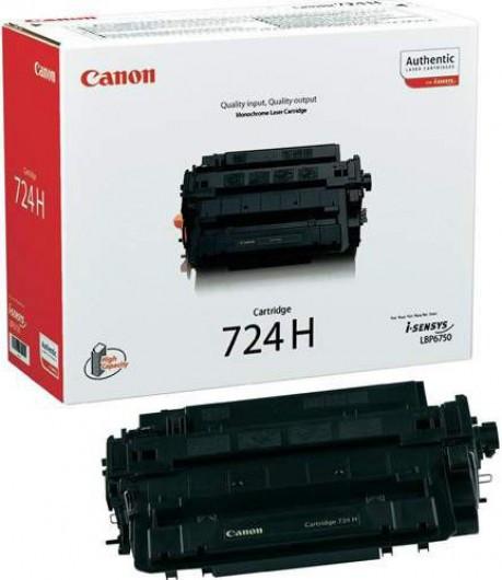 Canon CRG724H/LBP6750 Toner - festékkazetta 12K fekete (Black), eredeti