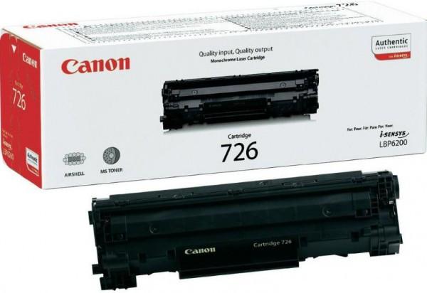 Canon CRG726/LBP6200 Toner - festékkazetta 2,1K fekete (Black), eredeti