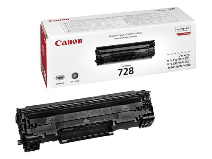 Canon CRG728/MF4580 Toner - festékkazetta 2,1K fekete (Black), eredeti