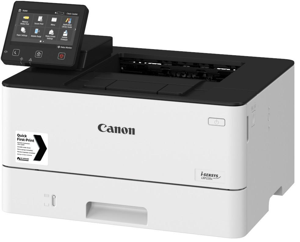 CANON LBP228X A4, mono, lézernyomtató hálózatos, Wi-Fi-s, duplex