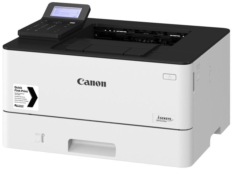 CANON LBP223DW A4, mono, lézernyomtató hálózatos, Wi-Fi-s, duplex
