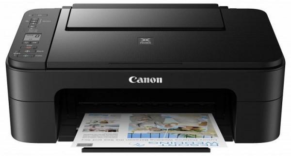 CANON TS3355 BLACK A4, színes, tintasugaras multifunkciós  nyomtató Wi-Fi-s