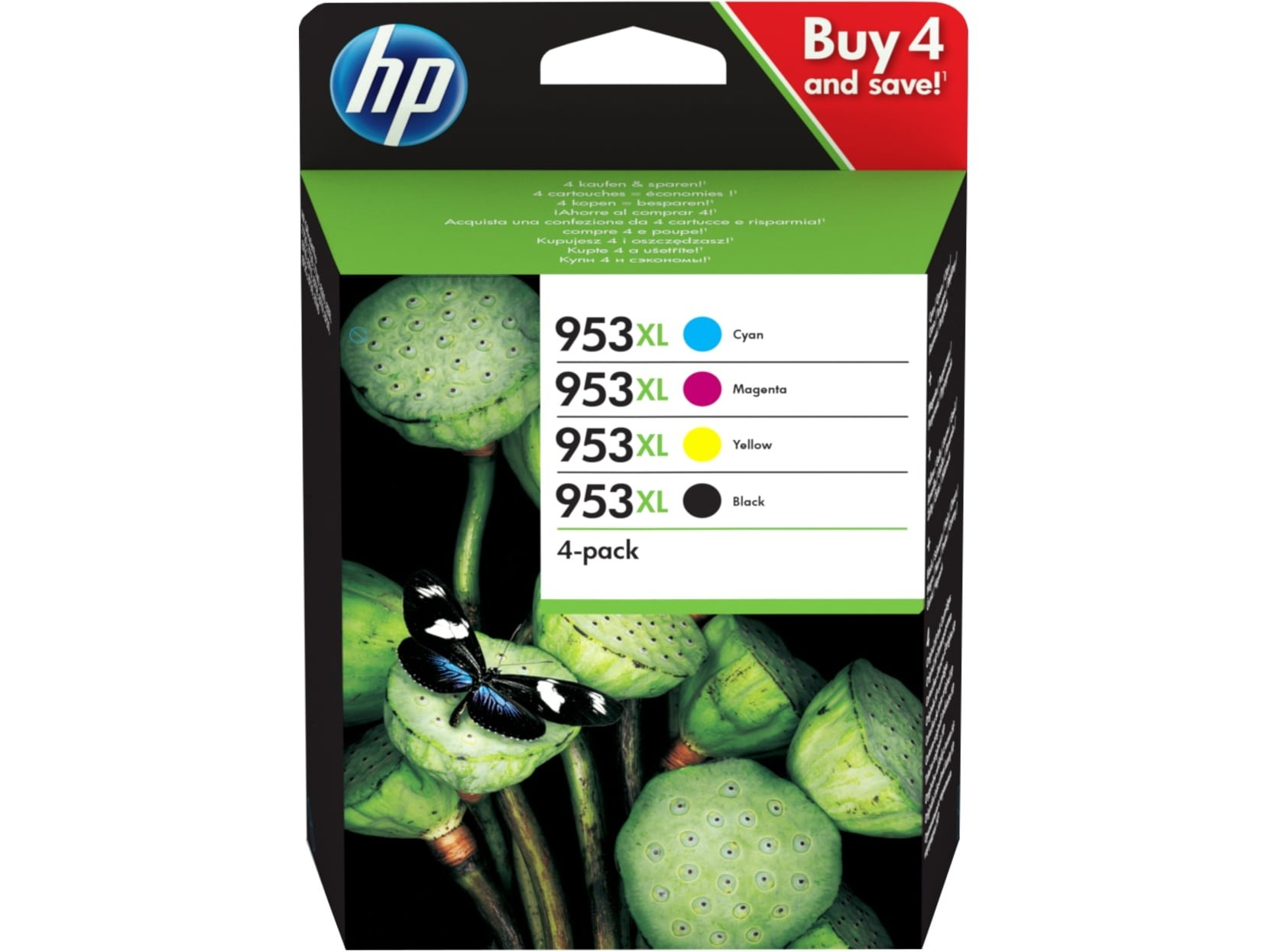 HP 3HZ52AE Patron 4pack No.953XL (Eredeti)