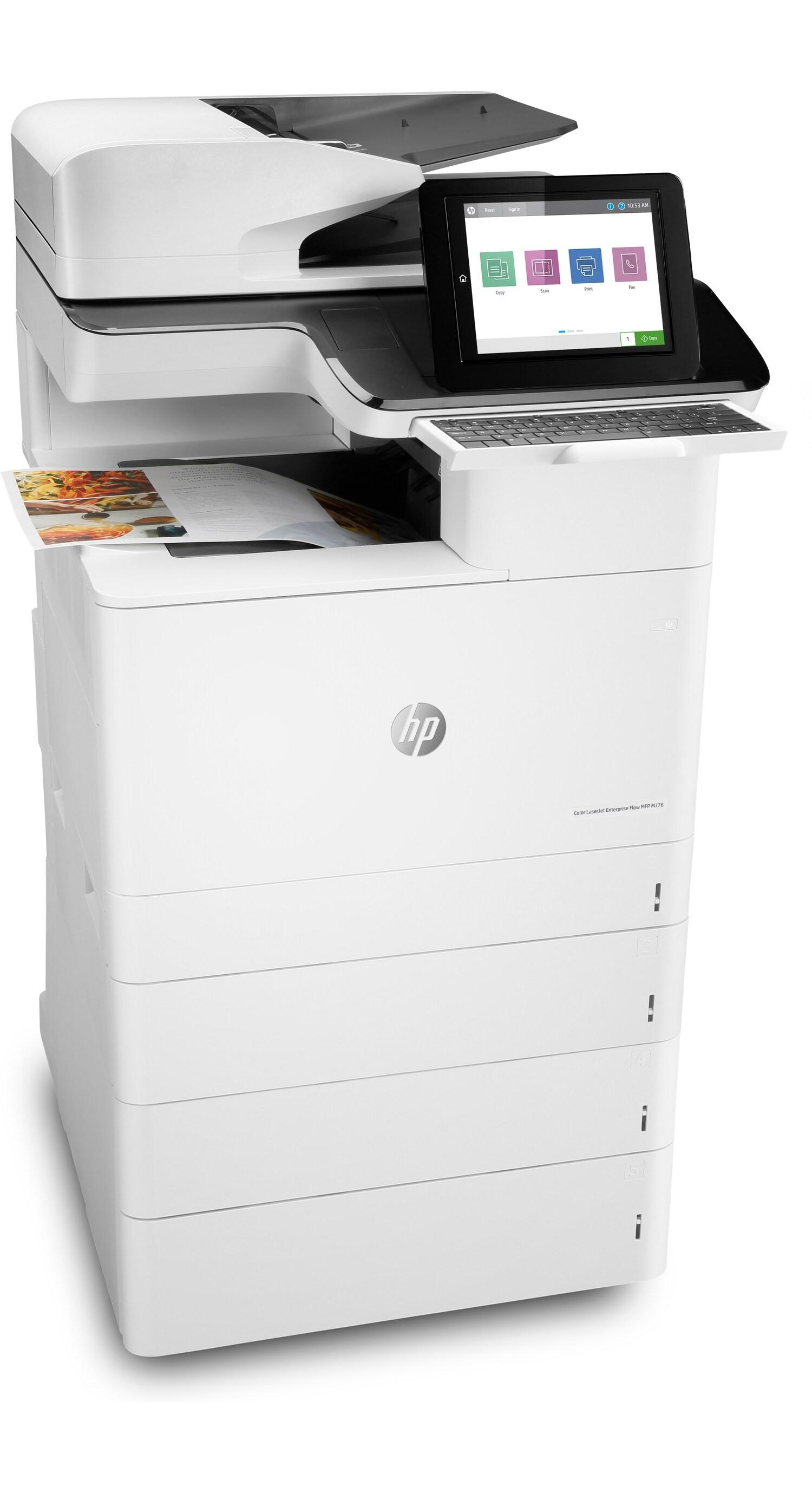 HP LaserJet M776Z A3, színes, lézer multifunkciós nyomtató hálózatos, Wi-Fi-s, duplex
