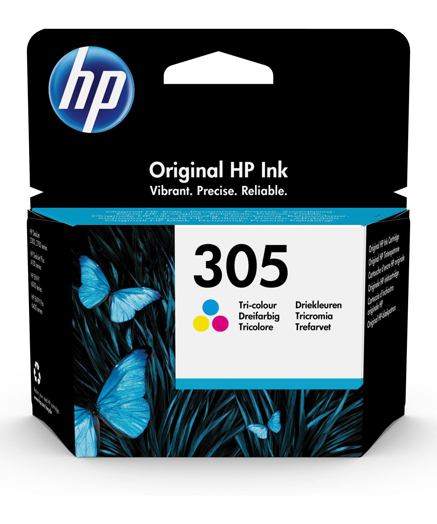 HP 3YM60AE Patron Tri-Color No.305 (Eredeti)