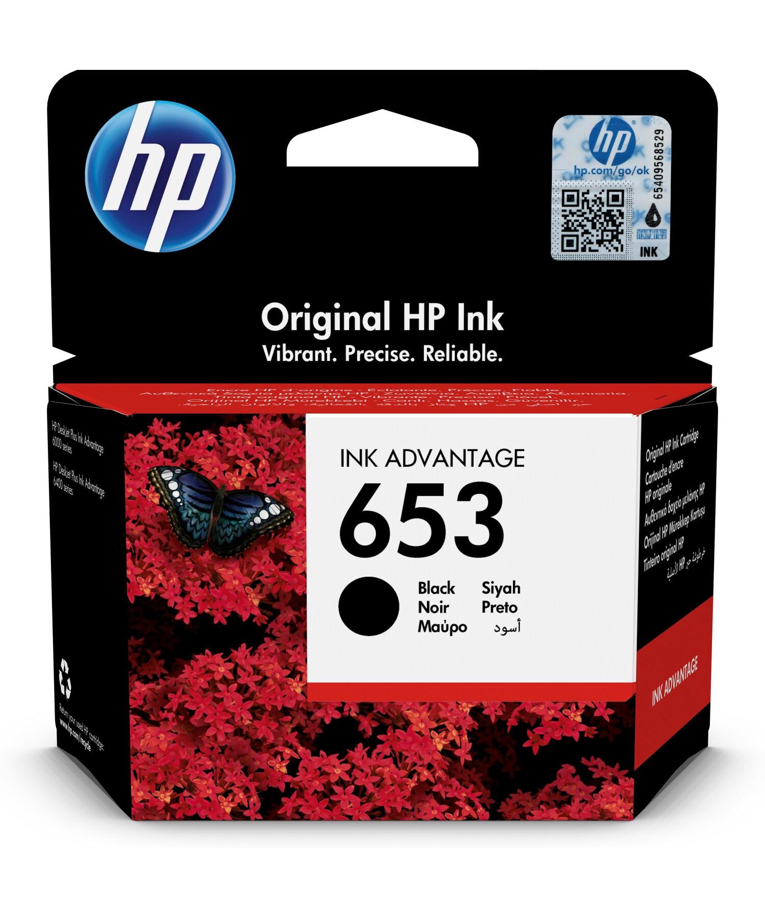 HP 3YM75AE Patron Black No.653 (Eredeti)