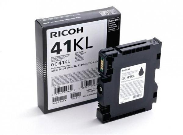 Ricoh SG 3100/GC-41K Tintapatron - Ink Cartridge 0,6K fekete (Black), eredeti